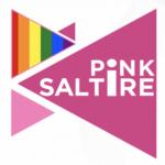 Pink Saltire